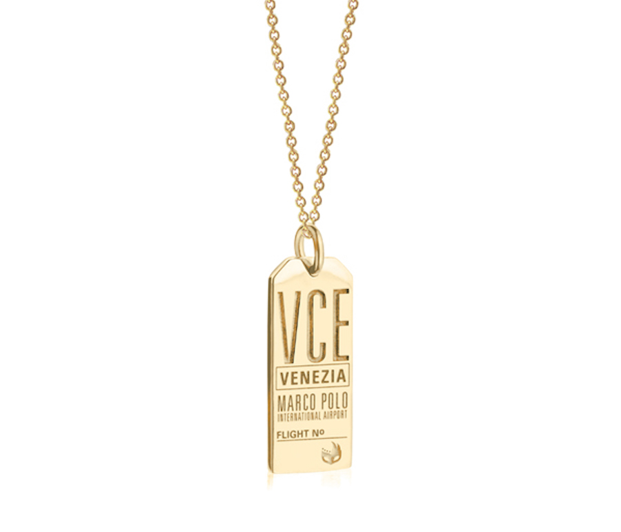 Travel Inspired Accessories: City Luggage tag charm