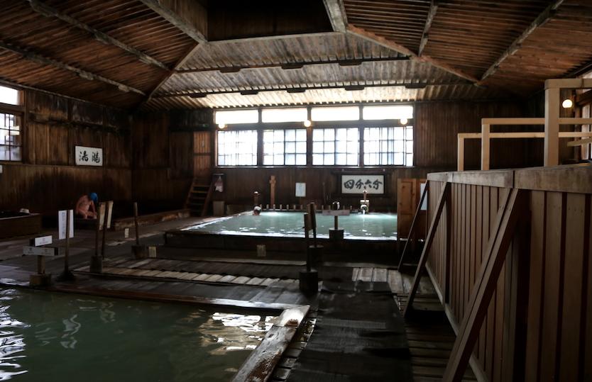 Sukayu Hot Springs Onsen in Aomori Japan