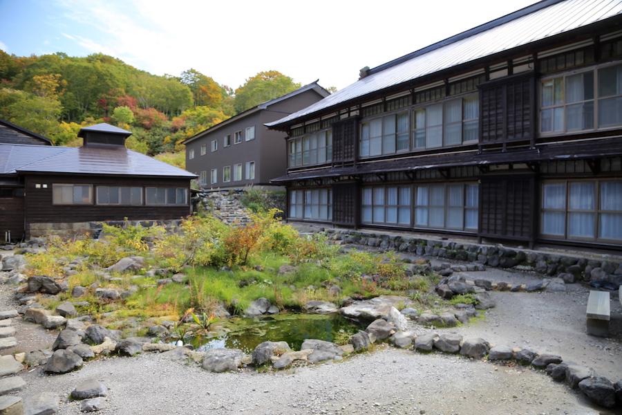 A traditional ryokan in Aomori, Japan