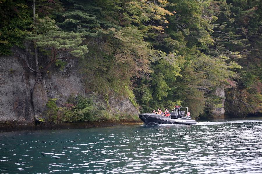 Lake Towada in Aomori Japan