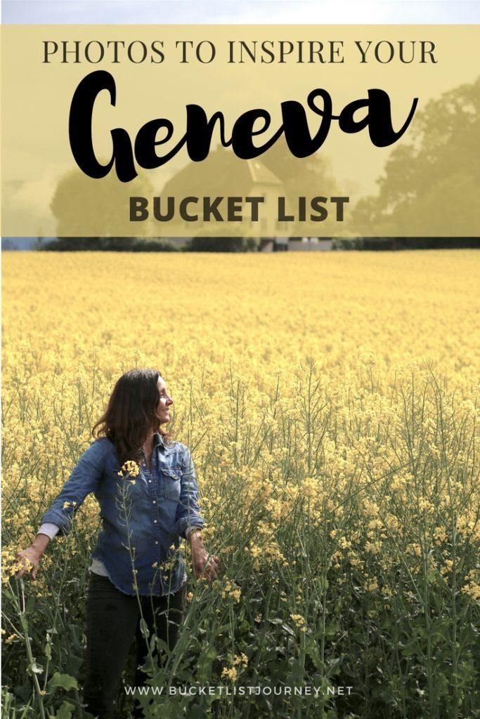 Stunning Geneva Photographs to Inspire Switzerland Your Bucket List