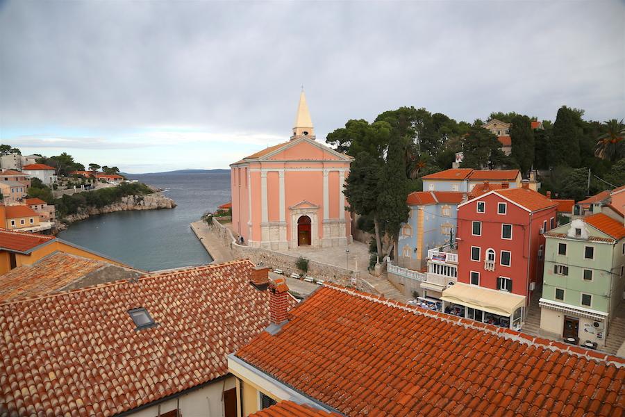 Lošinj Bucket List: Top Things to Do on The Croatian Island: Rooftop Views in Vali Losinj Croatia