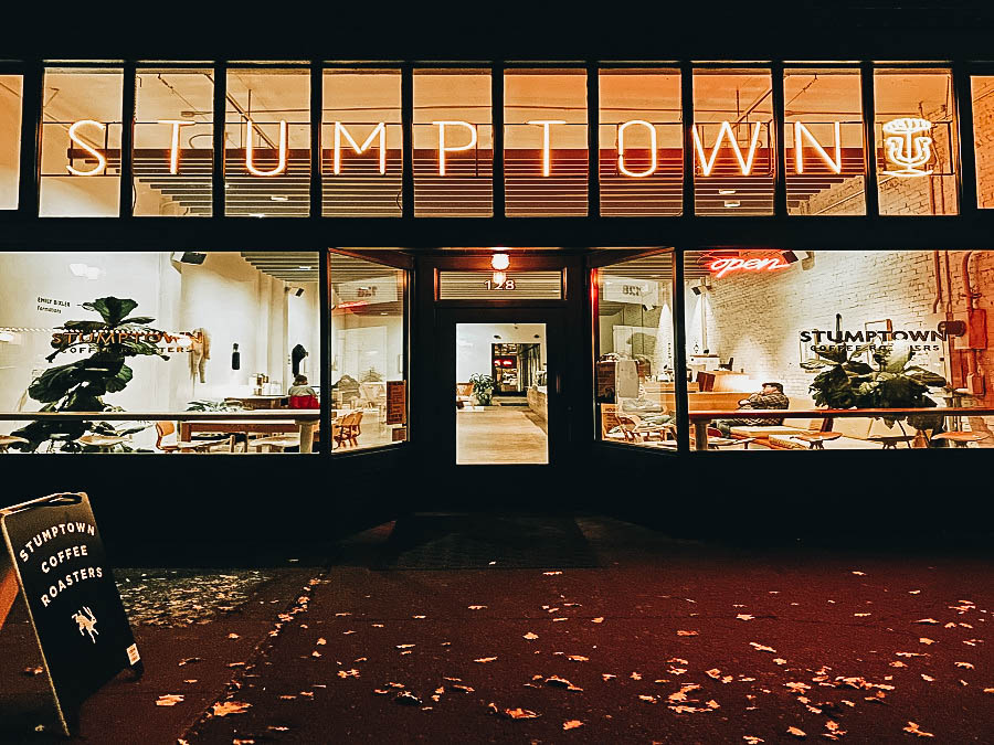 Drink a Cup of Stumptown Coffee