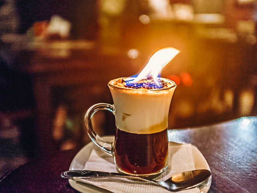 Drink a Flaming Spanish Coffee