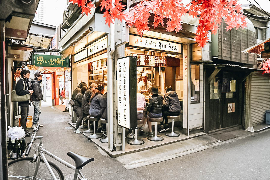 Eat in Piss Alley: Top Things to do in Tokyo