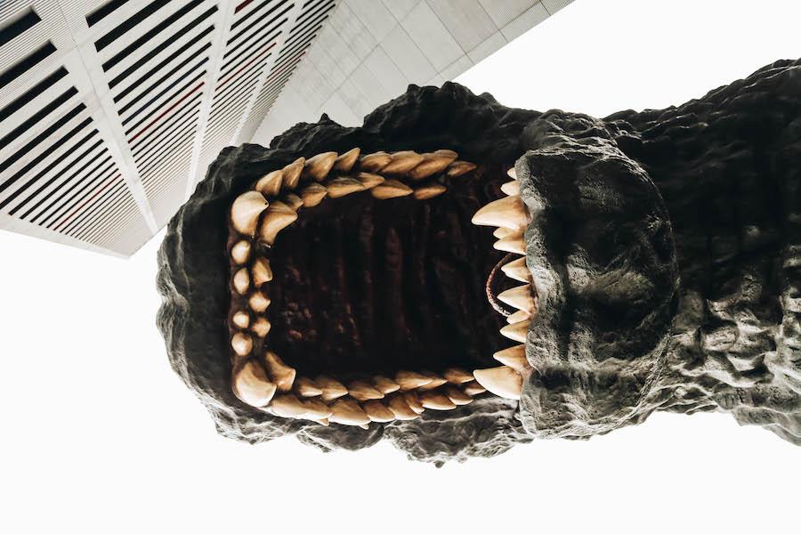 Big Godzilla in Tokyo