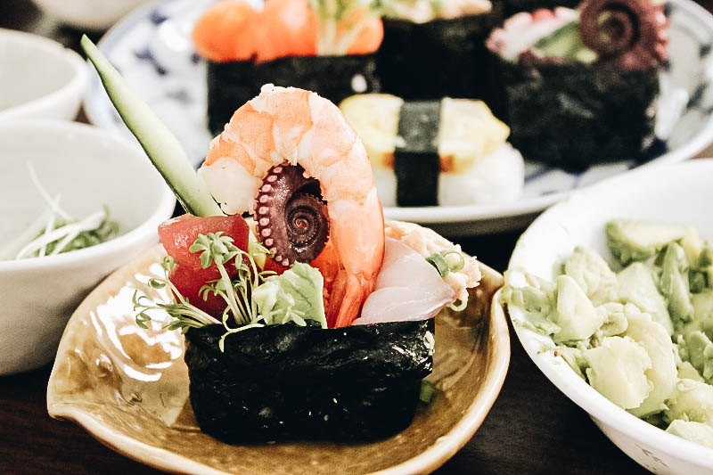 Making Sushi is a top thing to do in tokyo