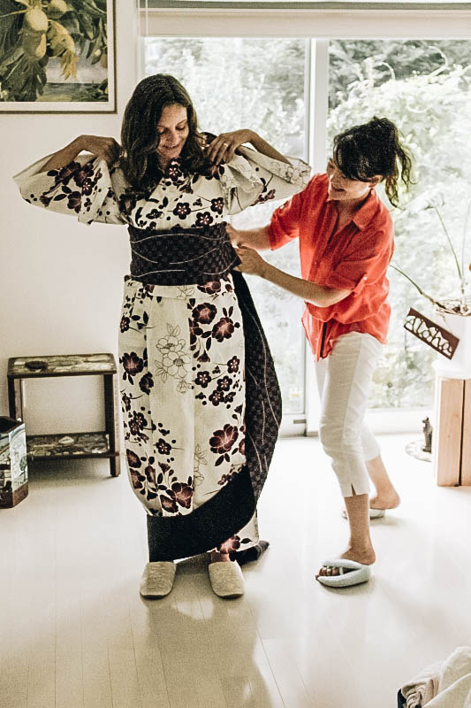Getting a Kimono Fitting is one of the Best Things to do in Tokyo