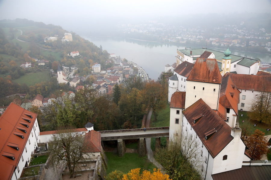 Viking European River Cruise Port: The castle in Passau Germany