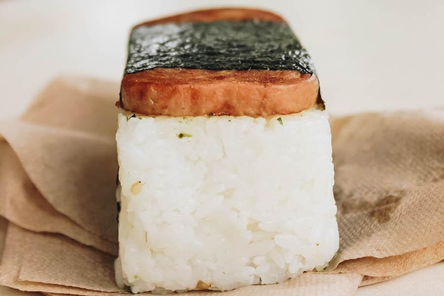 Spam Musubi: Traditional Hawaiian Food