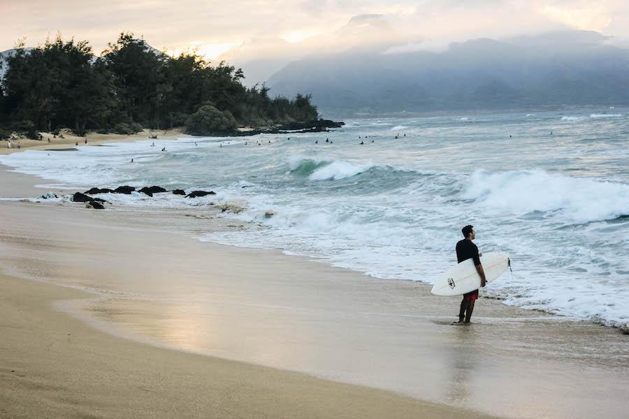 The Beach in Paia, Maui, Hawaii