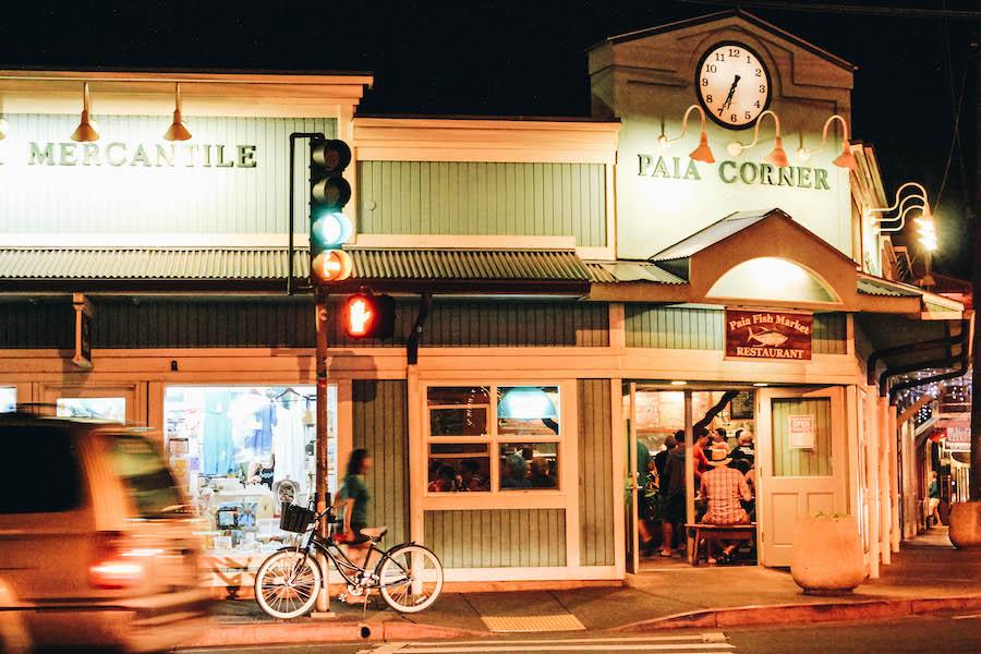 Downtown Paia, Maui, Hawaii