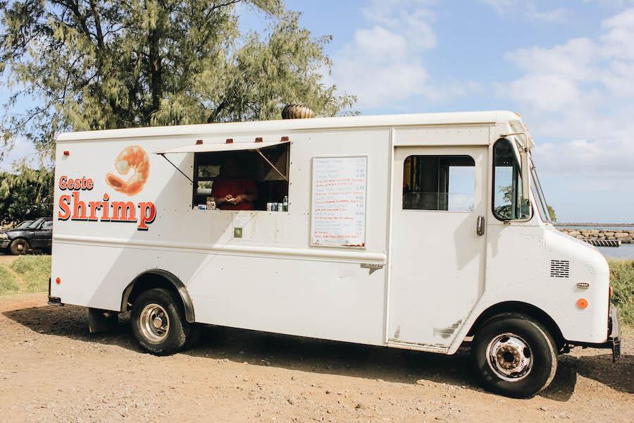 Geste Shrimp Food Truck in Maui
