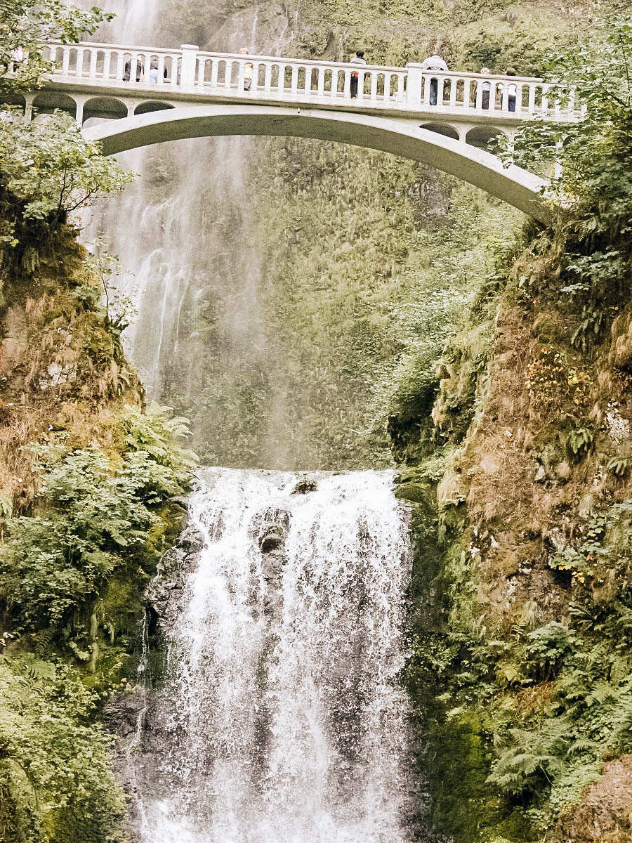 Multnomah Falls Oregon Portland