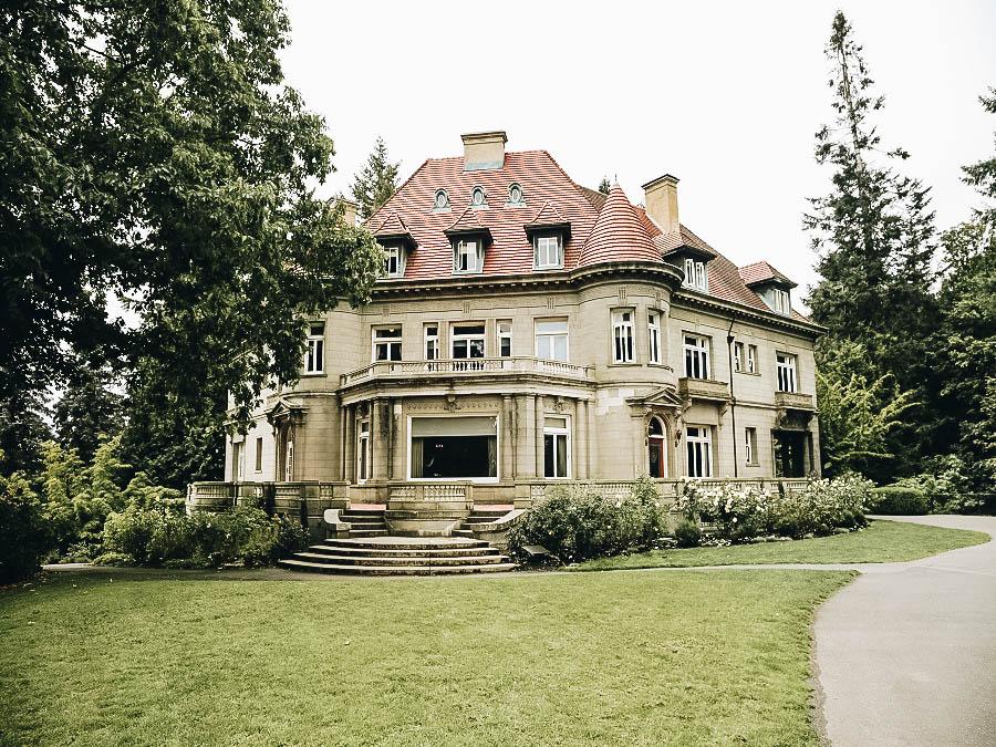Pittock Mansion Portland Oregon