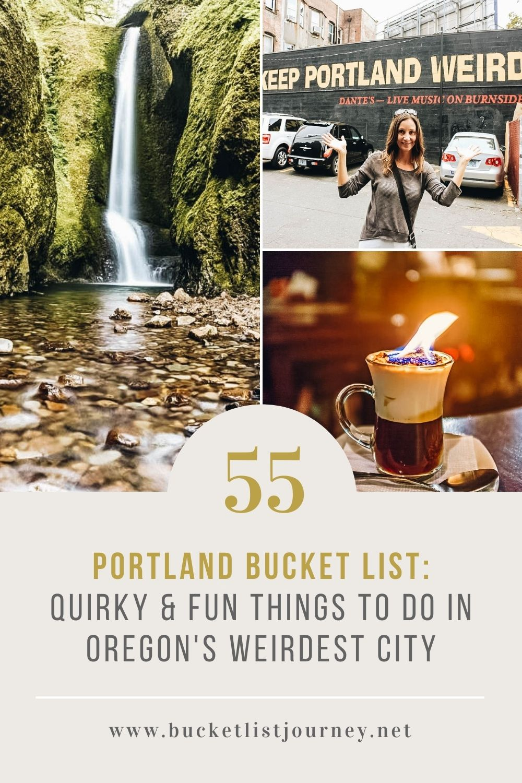 Portland Bucket List: 60+ Quirky & Fun Things to Do in Oregon's Weirdest City