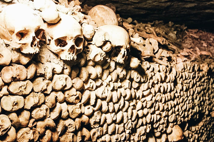 Get Spooked at the Catacombs in Paris