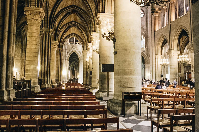 Attend Mass at Notre Dame Cathedral in Paris
