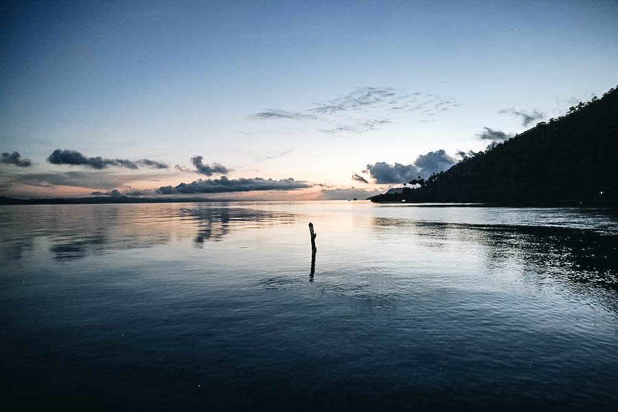 Free Sunrrise in Raja Ampat Indonesia
