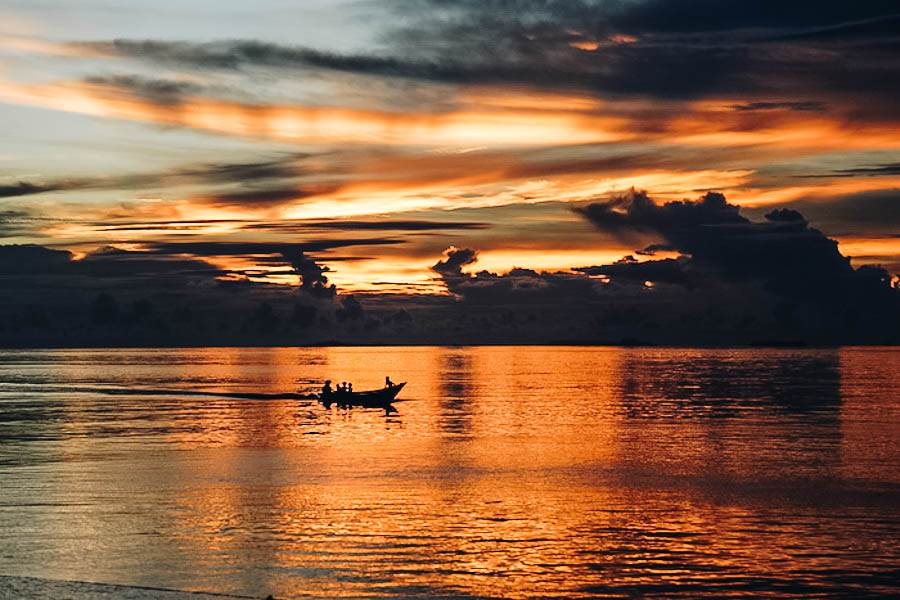 Free Sunset in Raja Ampat Indonesia