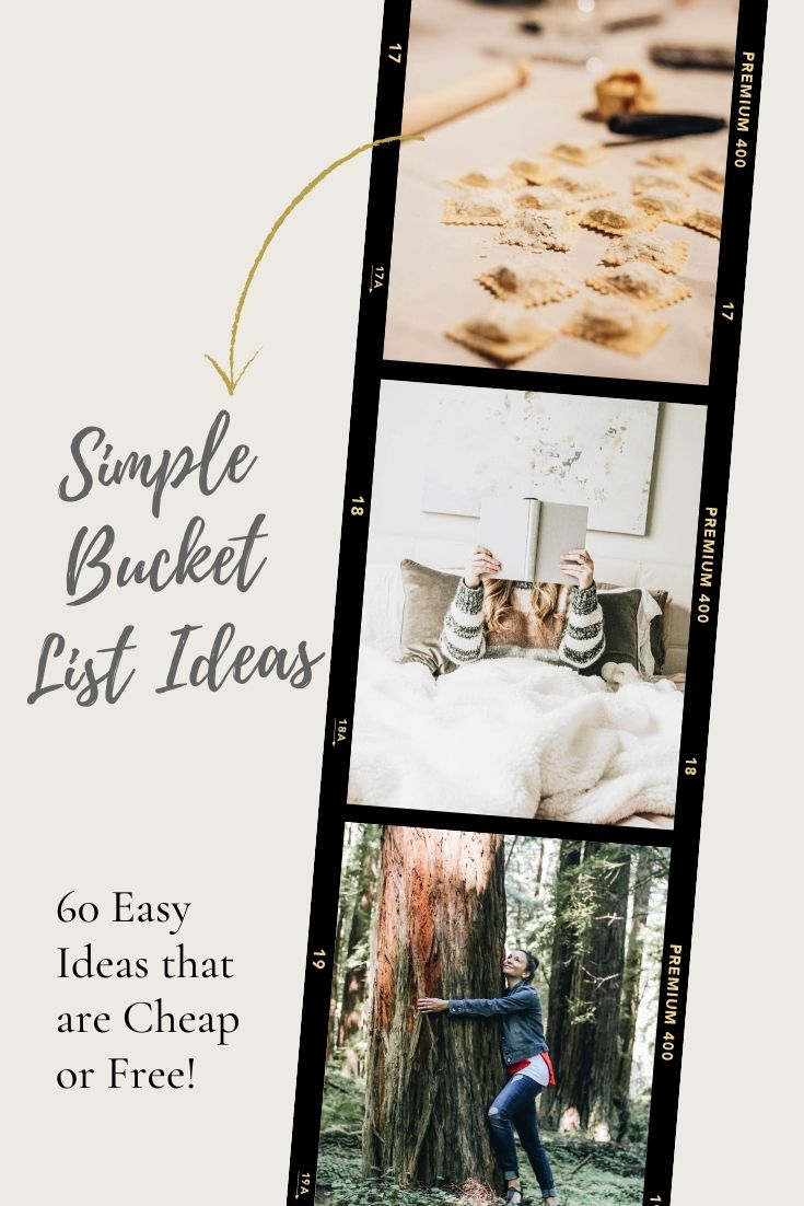 Simple Bucket List Ideas that are Cheap (or Completely Free!)