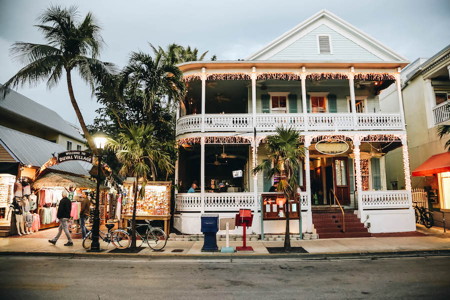 Duvall Street in Key West