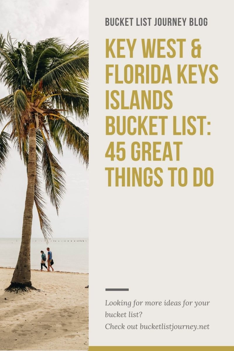 Top Attractions, Fun Activities & Best Things to Do in Key West (and the Florida Keys Islands)