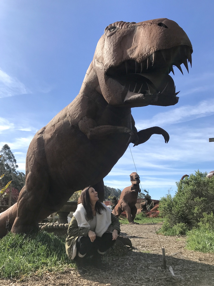 Dinosaurs of Spanishtown Half Moon Bay Bucket List: Things to Do Along California's Coastside