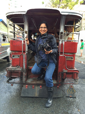 Sonia Narang_Filming in Philippines