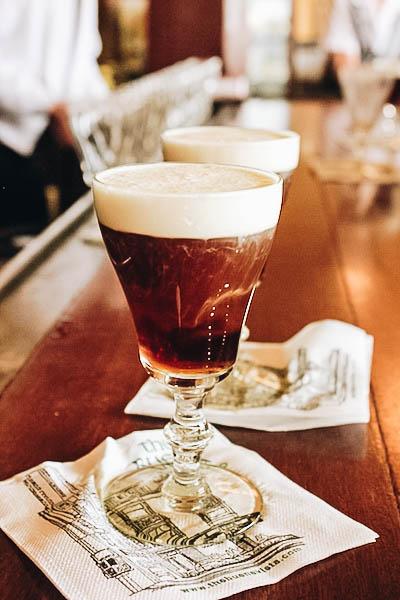 Irish Coffee at The Buena Vista in San Francisco