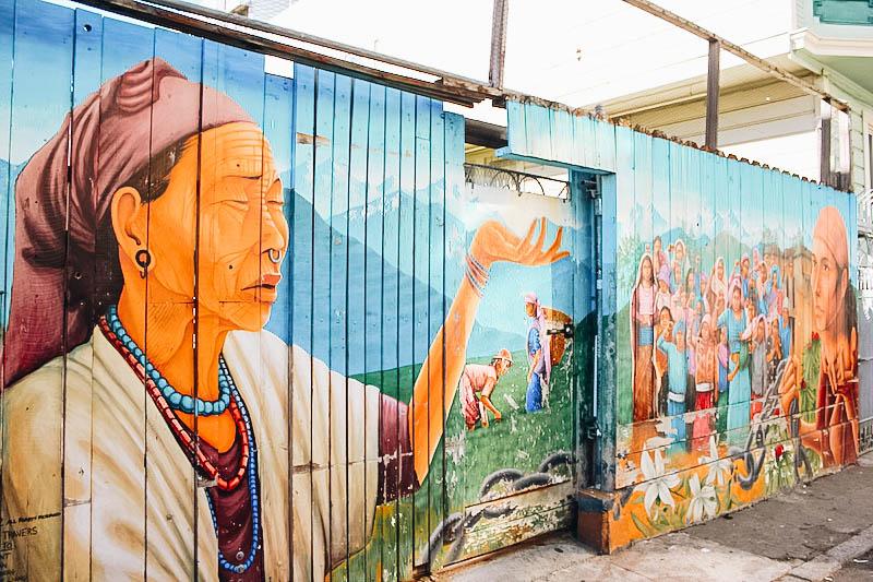 Balmy Alley Murals in SF