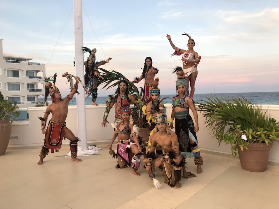 Mayan Dancers | Things to Do at the Panama Jack All Inclusive Resort in Cancun