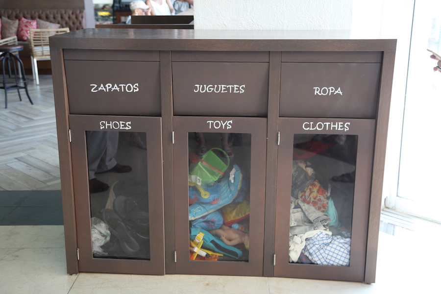 Donation Bins | Things to Do at the Panama Jack All Inclusive Resort in Cancun
