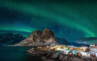 Norway's Northern Lights: Aurora Borealis Cruise with Hurtigruten