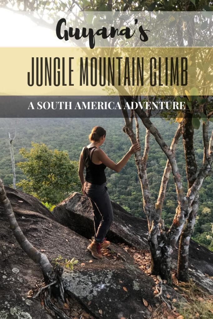An Adventurous Guyana Tour: Jungle Mountain Climb in Rupununi