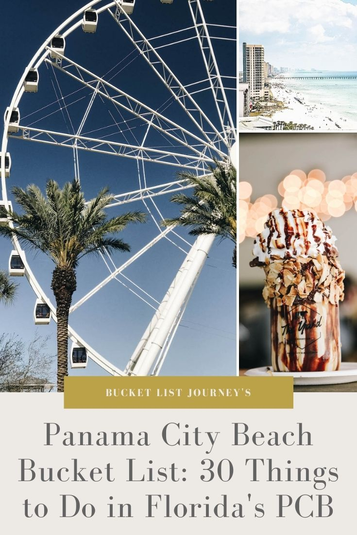 Panama City Beach Bucket List: 30 Things to Do in Florida's PCB
