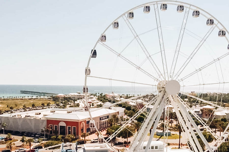 Take in the View from the SkyWheel Ferris Wheel