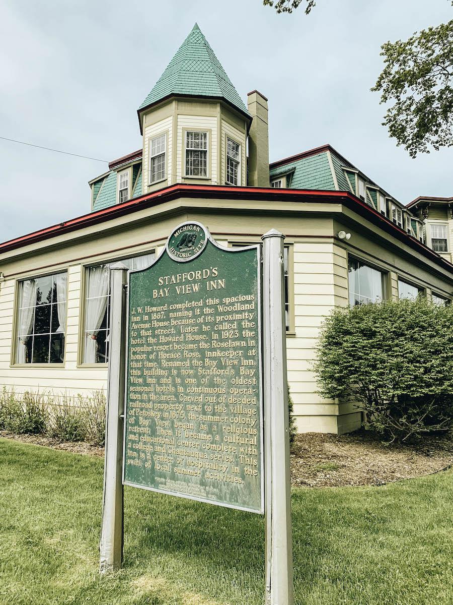 Stafford's Bay View Inn in Petoskey Michigan
