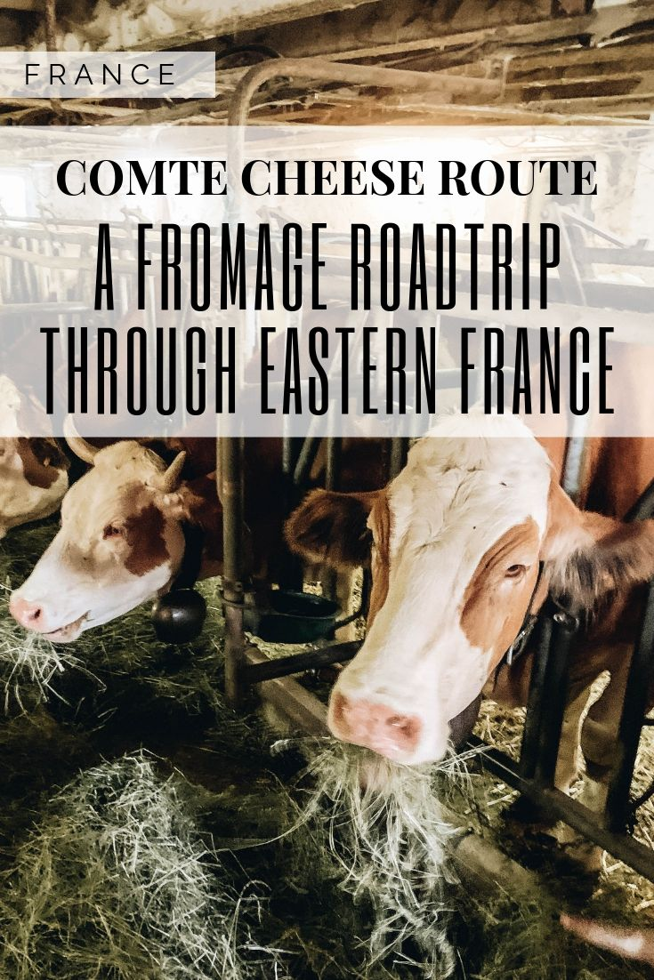 Pinterest Graphic 2 for Comte Cheese Route