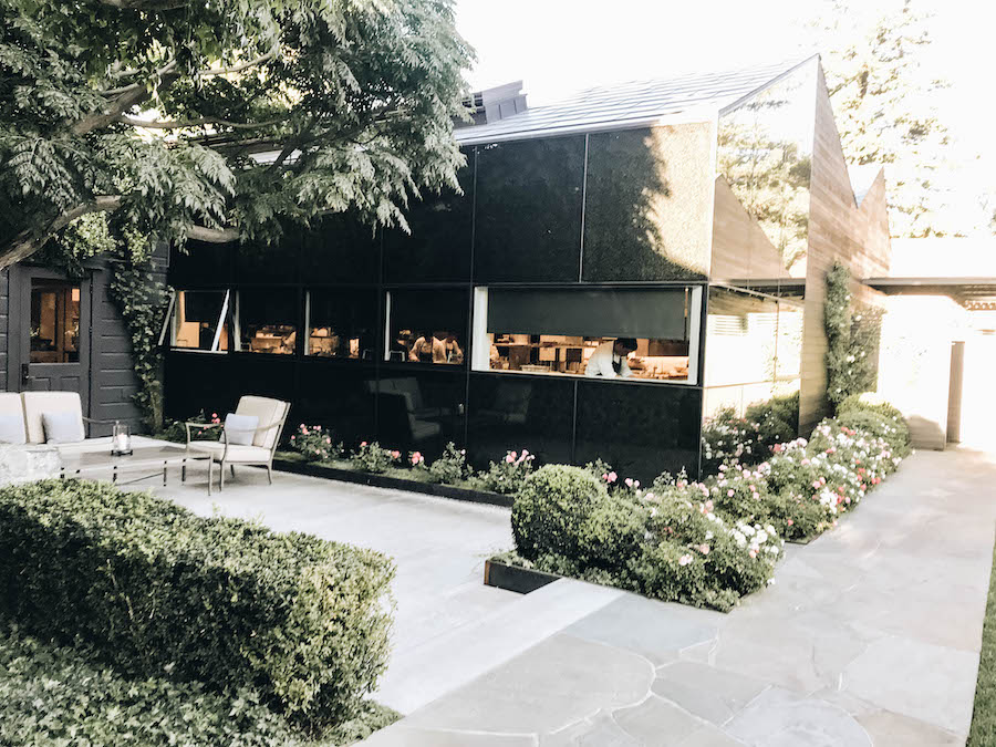 Exterior of The French Laundry | Getting Reservations at The French Laundry & What to Expect After