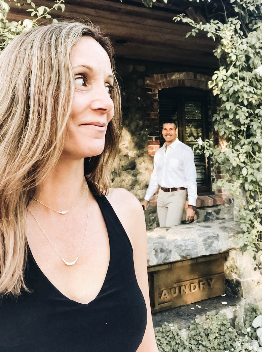 Candid photo of Annette & Peter at The French Laundry | Getting Reservations at The French Laundry & What to Expect After