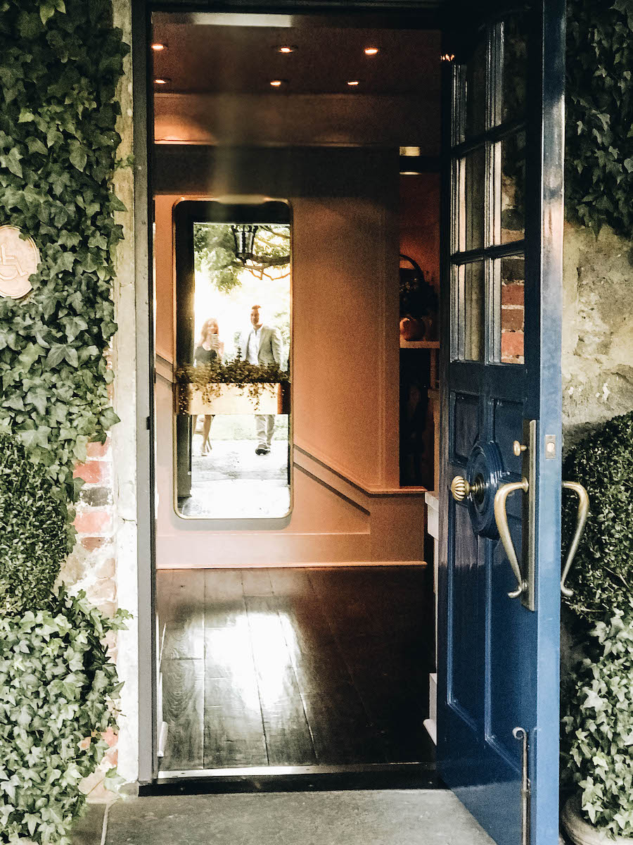 Doorway to the restaurant | Getting Reservations at The French Laundry & What to Expect After