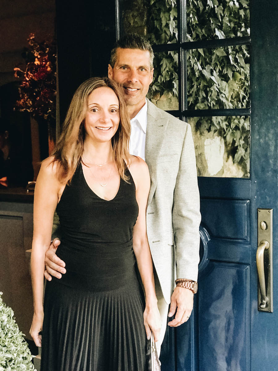 Annette and Peter at The French Laundry | Getting Reservations at The French Laundry & What to Expect After