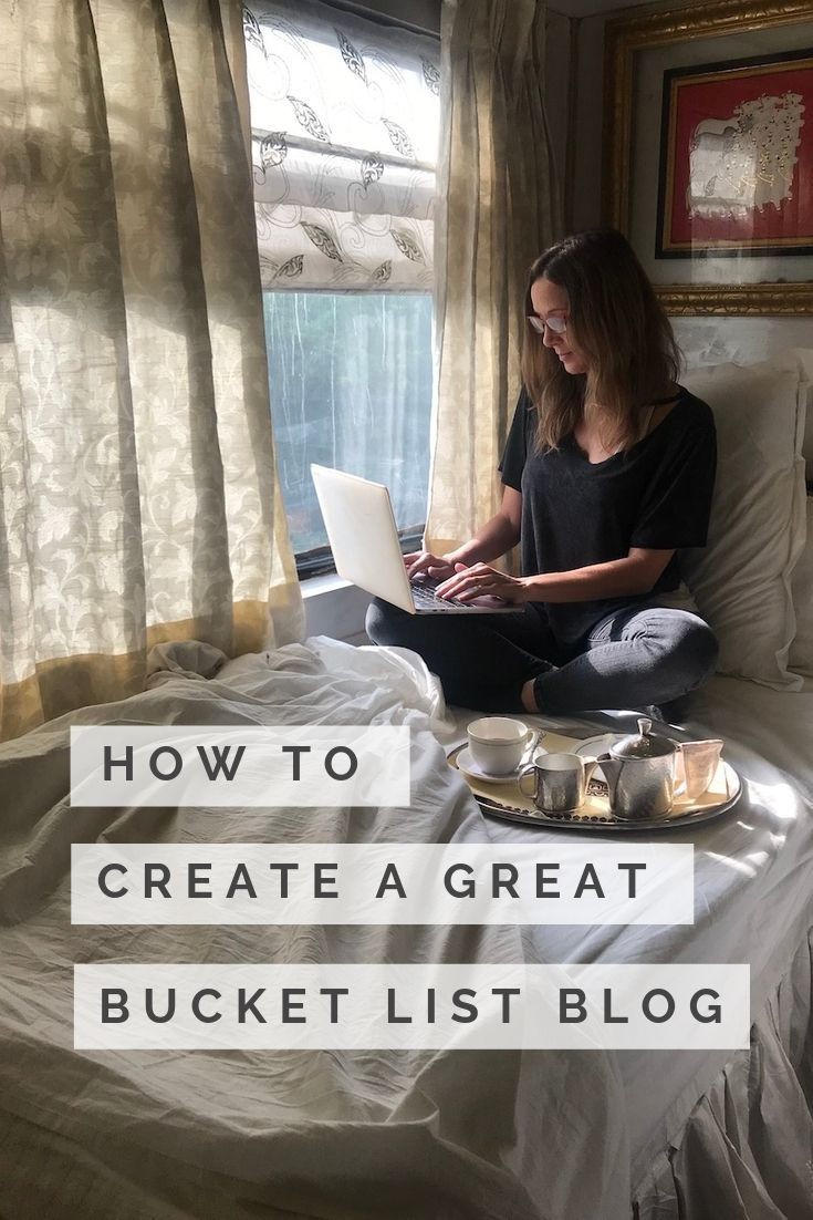 How to Start Your Own Successful Bucket List Blog in 6 Easy Steps
