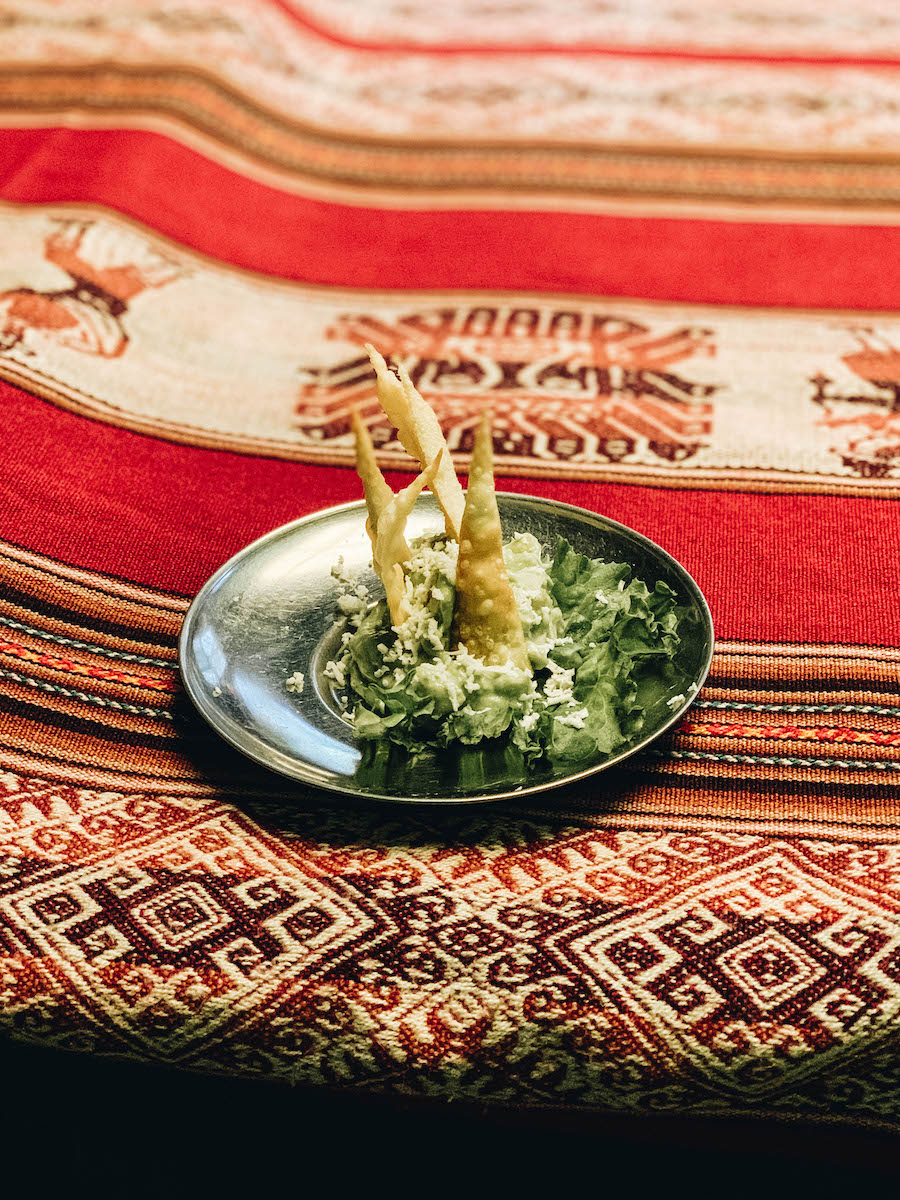 Inca trail meals