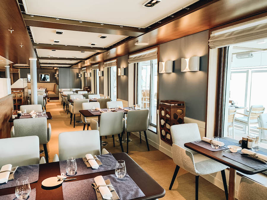 Lido Restaurant on Hapag-Lloyd Hanseatic Expedition Cruise Ship