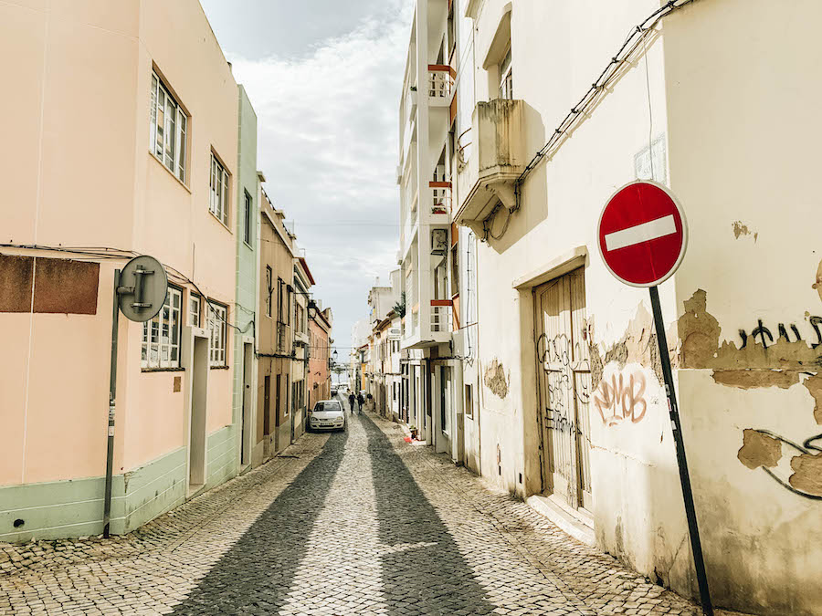 Streets of Portimao - a port on the Hanseatic Inspiration Cruise Ship