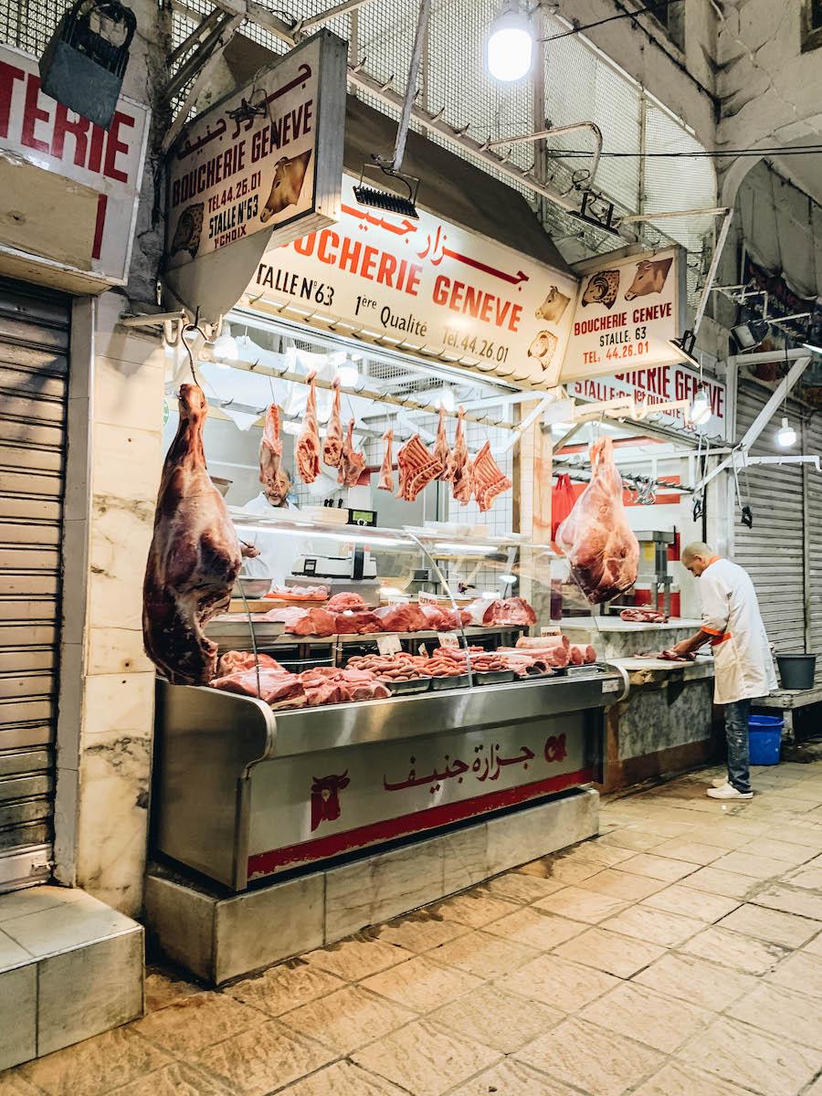 Food Market In Casablanca