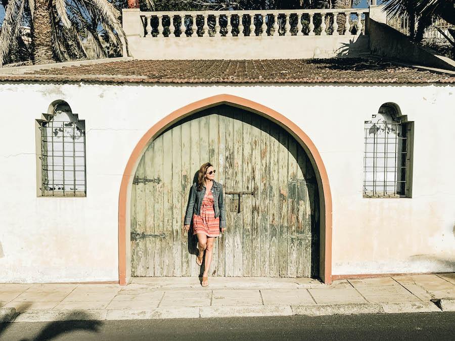 Annette White in Porto Santo Portugal