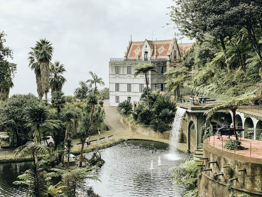 Monte Palace Tropical Garden in Funchal Portugal